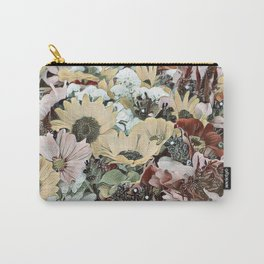 Toony World - floral 4 Carry-All Pouch