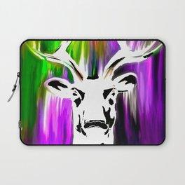 White Deer OIL PAINTING Laptop Sleeve