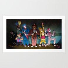 Freddy's Toyland Art Print