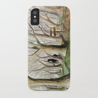 middle earth iPhone & iPod Cases featuring Middle Earth by Jeff Moser Watercolorist