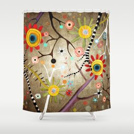 I was lost, then I found you  Shower Curtain