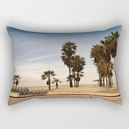 not that Venice, the other one Rectangular Pillow