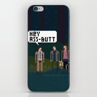 supernatural iPhone & iPod Skins featuring Supernatural by FuliFuli