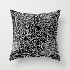 This way, that way Throw Pillow