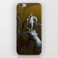 baphomet iPhone & iPod Skins featuring Baphomet by Ejay Basford