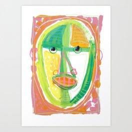 Summer Man Art Print