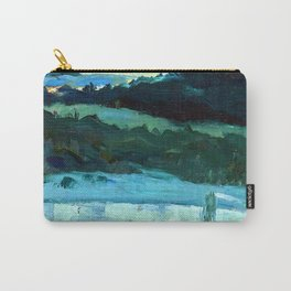 Mikhail Nesterov Volga River Carry-All Pouch