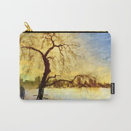 Walk Under the Willow Carry-All Pouch