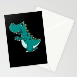 Funny jumping frog kids gift Stationery Cards
