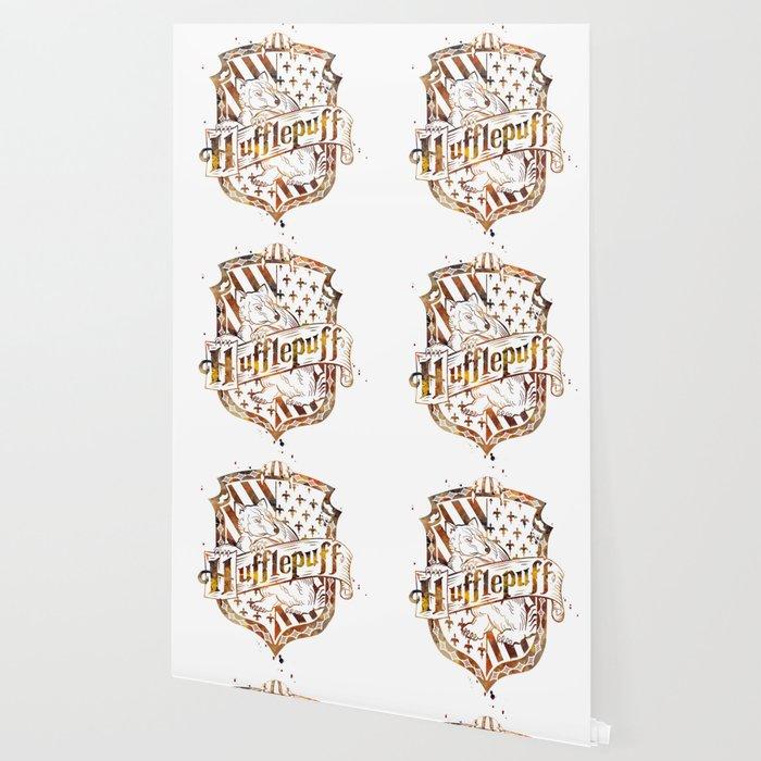 Hufflepuff Crest Wallpaper By Artsaren