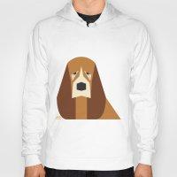 the hound Hoodies featuring Basset Hound by Page 84 Design