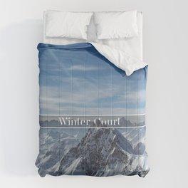 Winter Court Comforters