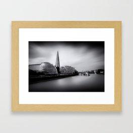 London City and The Shard.  Framed Art Print