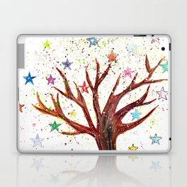 Star Tree Illustration Art Laptop & iPad Skin