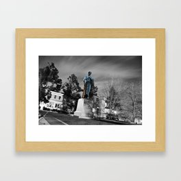 Travel with me, Trough Purgatory! Framed Art Print