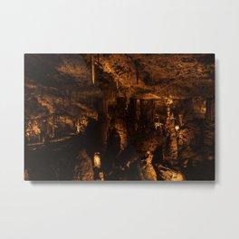 Stalactite Cave, Bet Shemesh, Israel Metal Print