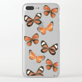 South American Butterflies Clear iPhone Case