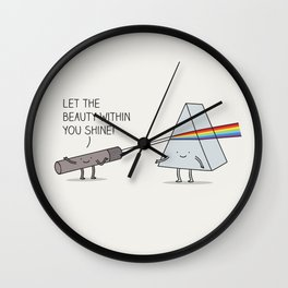 true colours Wall Clock