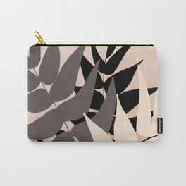 Boho Leaves Carry-All Pouch