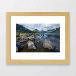Wastwater English Lake District Framed Art Print