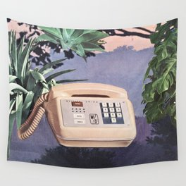 Late Nite Phone Talks Wall Tapestry