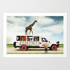 I Dreamed a Safari  Art Print