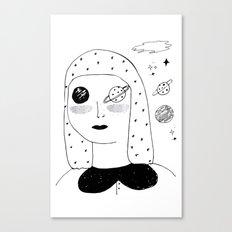 Lunar Sea Canvas Print
