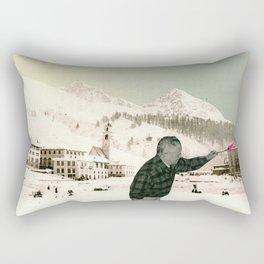The Painter Rectangular Pillow