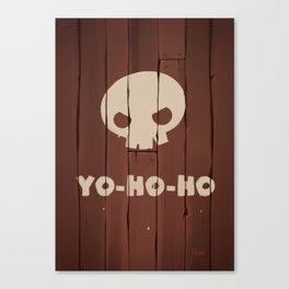 YO-HO-HO! Canvas Print