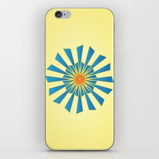 Spring Blue iPhone & iPod Skin
