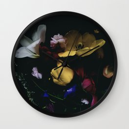 Night Garden Wall Clock