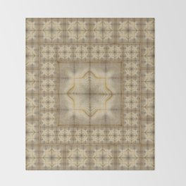 Morocco Mosaic 2 Throw Blanket