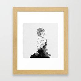 Deep ocean of secrets. Framed Art Print