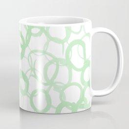 Watercolor Circle Sage Coffee Mug