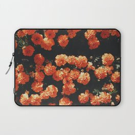 Orange flower fleurs Laptop Sleeve