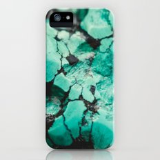 Turquoise  iPhone (5, 5s) Slim Case