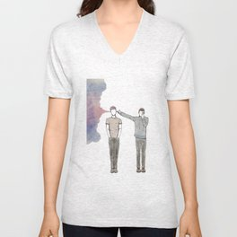 Guns For Hands. By Maria Piedra Unisex V-Neck
