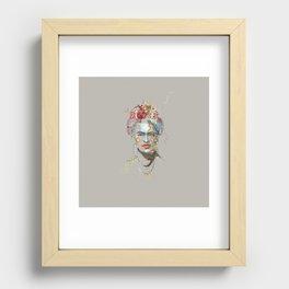 Frida Kahlo (3) Recessed Framed Print