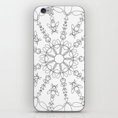 the flower we made iPhone & iPod Skin
