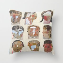 Let's Get It Together Throw Pillow