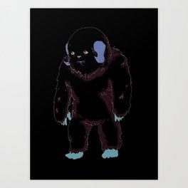 Wampa Art Print