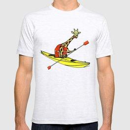 Giraffe Sea Kayaking T-shirt