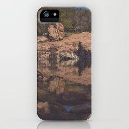 Inks Lake Reflection iPhone Case