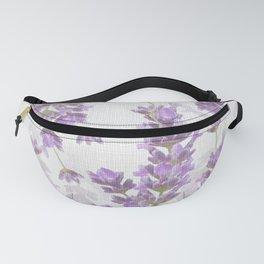 Lavender Flowers Vintage Style #decor #society6 #buyart Fanny Pack