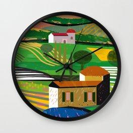 Farm House Wall Clock