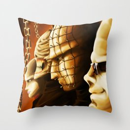 Hellraiser Poster Throw Pillow
