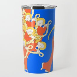 Angelic Chorale of Horns #Holidaze Travel Mug