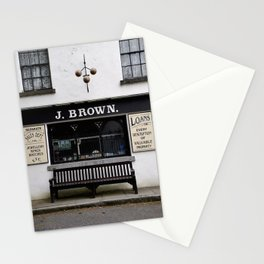 Store Front From the Past Stationery Cards