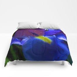Blue Iris Comforters