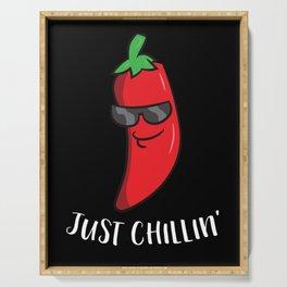 Chili Just Chillin Love Chilis Cinco De Mayo Serving Tray